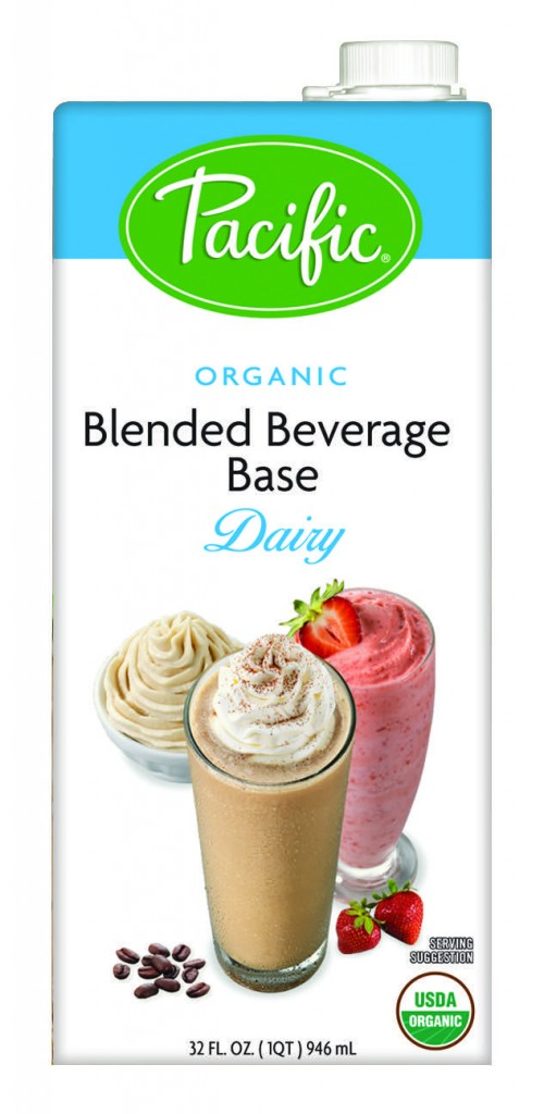 Pacific Natural - Dairy Frappé and Smoothie Drink Base